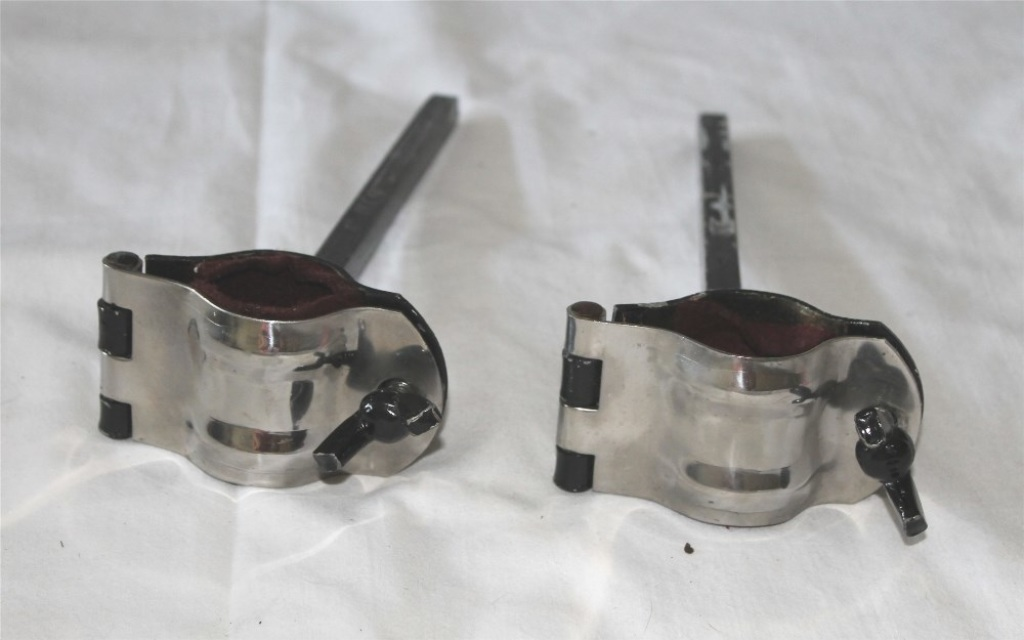 Stainless steel clamp lamp brackets
